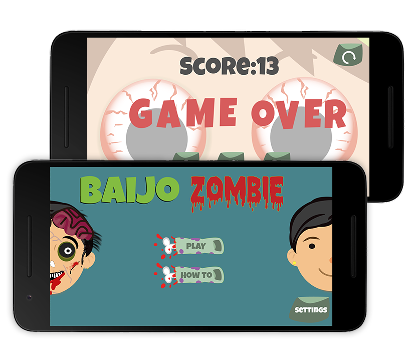 Baijo Zombie - Beware, there is a Zombie Bai.